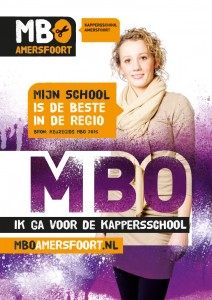Poster boostcampagne Kappersschool
